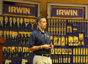 At Irwin Tools and Elevating the Role of Tradesmen