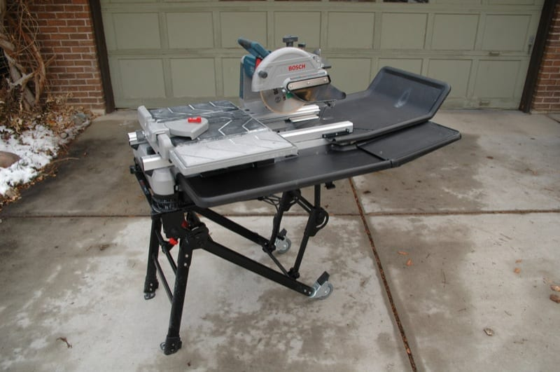Review: Hands-on with the Bosch TC10 Tile Saw