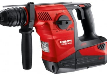 hilti te 30 a36 cordless rotary hammer review. Black Bedroom Furniture Sets. Home Design Ideas