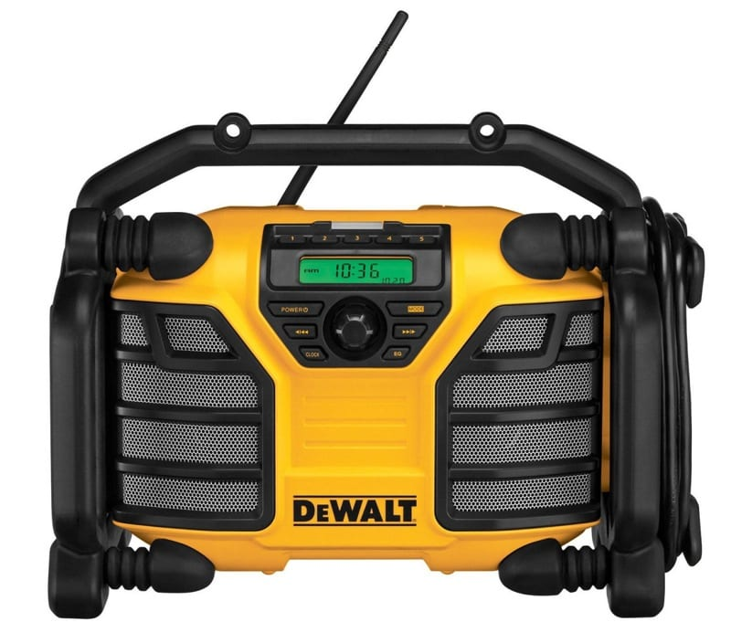 dewalt DCR015 Jammin on the Job Site: Portable Job Site Radios Round up