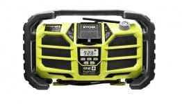 ryobi P745 262x150 Jammin on the Job Site: Portable Job Site Radios Round up