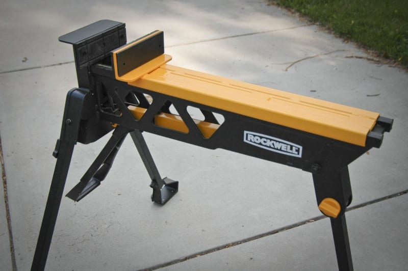 Rockwell Jawhorse Sheetmaster top Building a Better Sawhorse: A Comparison Review