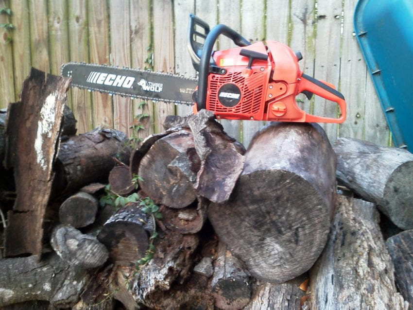 Echo CS590 Howling Success: Echos CS 590 Timber Wolf Chainsaw