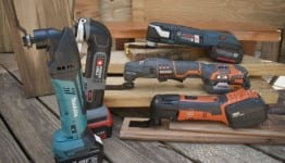 cordless multi tools upright 262x150 Best Cordless Oscillating Multi Tools   18V Shootout