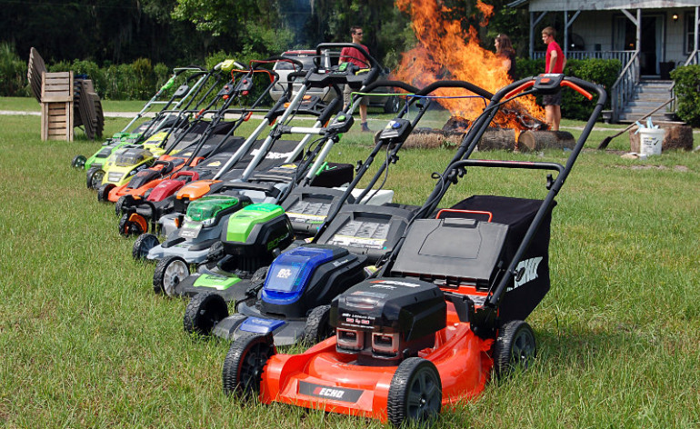 Lithium-Ion Powered Lawn Mower Featured Image