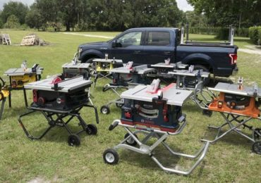 Best Portable Jobsite Table Saw Shootout - Featured Image