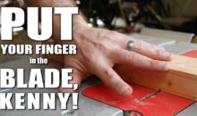Putting Your Finger in a Spinning Saw Blade