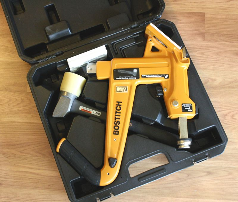 Bostitch Mfn 201 Manual Flooring Cleat Nailer Kit Review