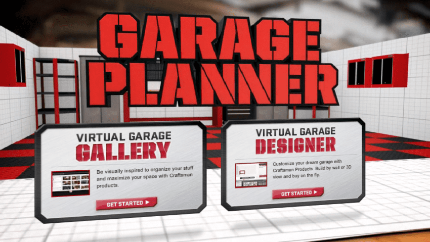Craftsman Rolls Out 3d Garage Storage Design App