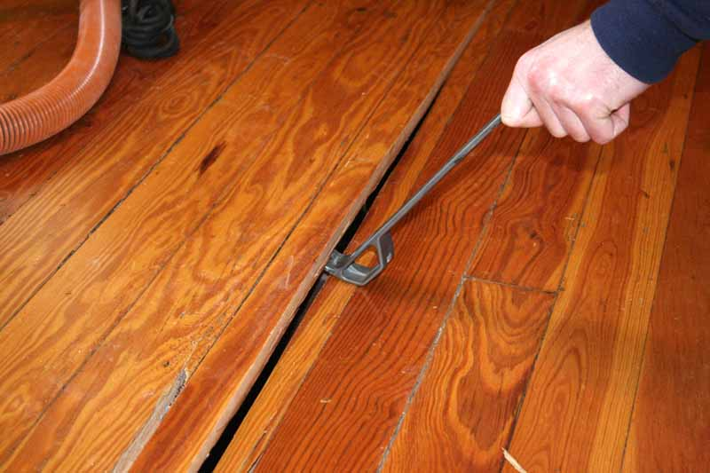 How to repair and replace inch wood flooring