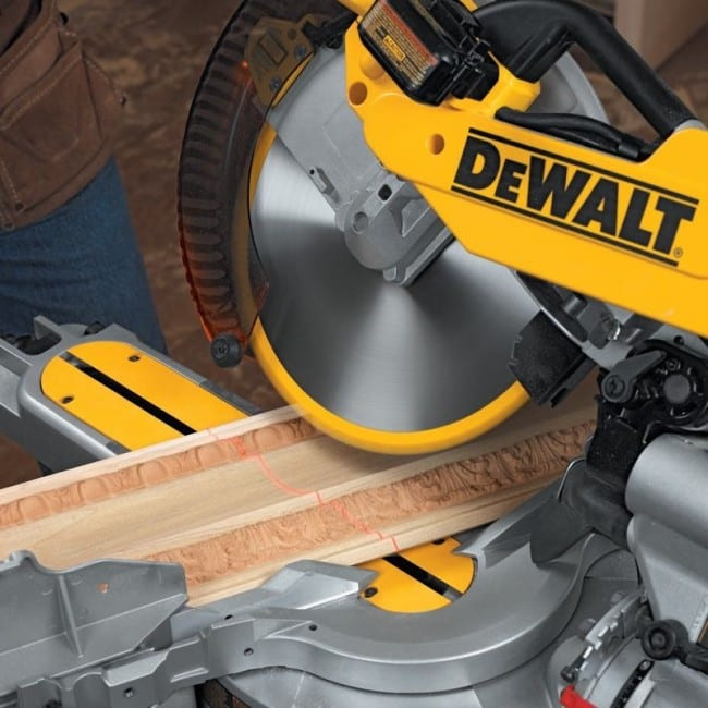 DeWalt DW718 miter saw optional laser