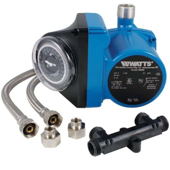 Installing The Watts Hot Water Recirculating Pump 500 800