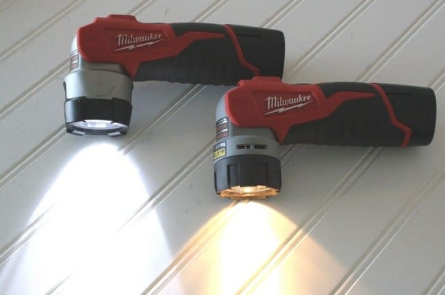 Milwaukee M12 LED lights compared