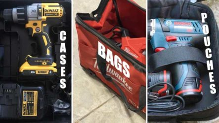 power tool packaging cases bags pouches