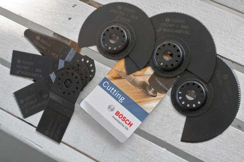 Bosch OIS Oscillating Tool Interface System Accessories