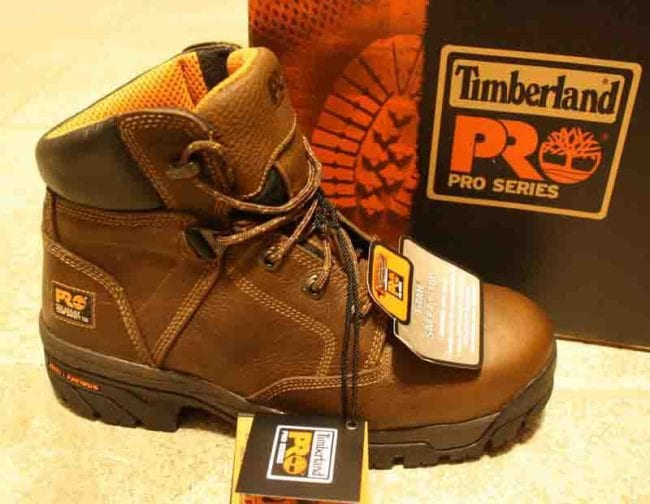 Timberland PRO Helix Waterproof Safety Toe Work Boots