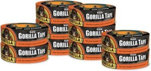 Gorilla Black Duct Tape top 10 tools you need for the zombie apocalypse