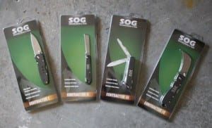 SOG Contractor Knives retail
