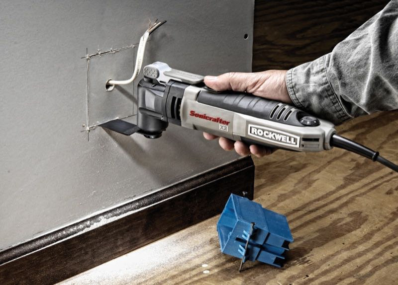 Rockwell Sonicrafter drywall