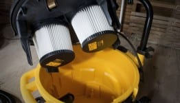 DeWalt DWV012 dust extractor filters