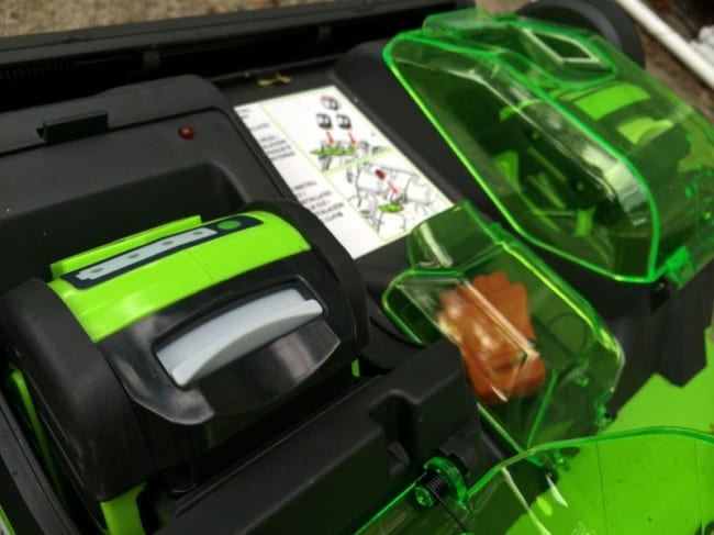 Greenworks 20 Twin Force battery