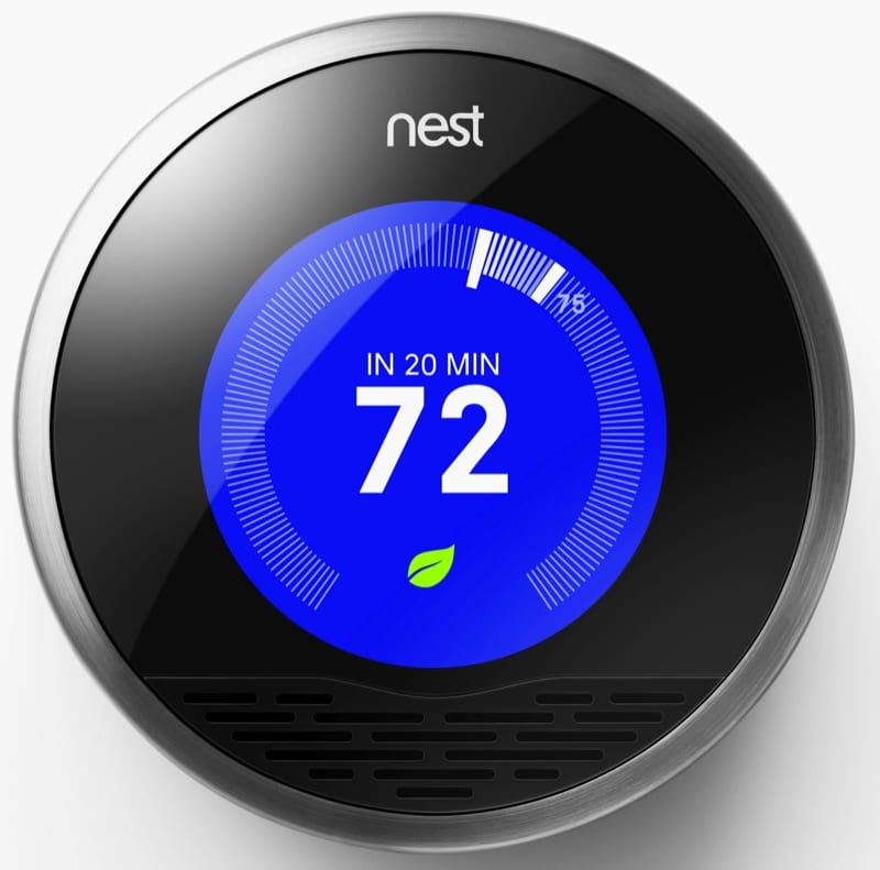 Nest thermostat cooling eco