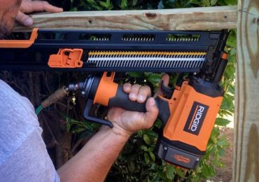 Ridgid R350RHE Framing Nailer Fencing