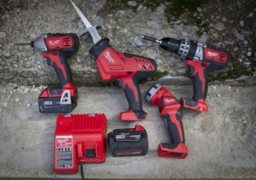 Milwaukee M18 4 tool kit
