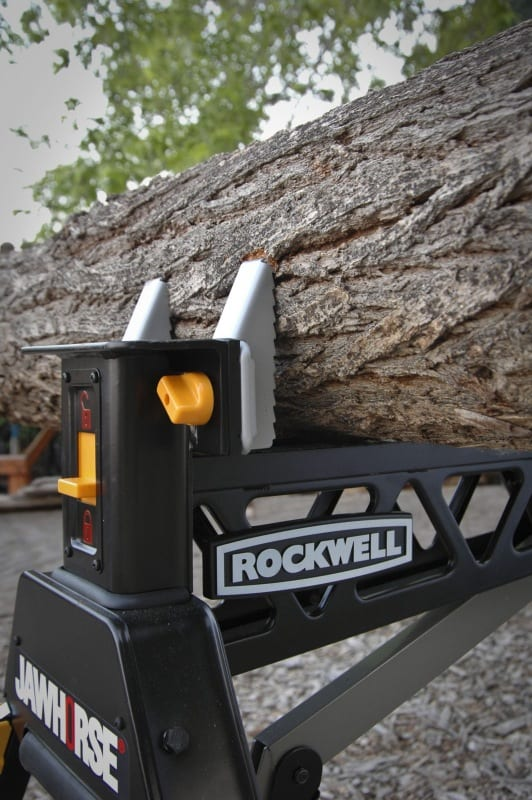 Rockwell Jawhorse log clamp