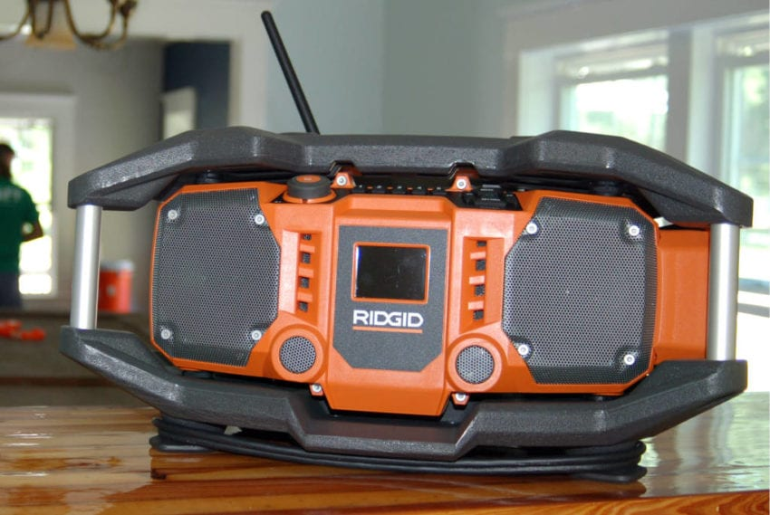 Ridgid Jobsite Radio: Better Features, Same Sound Quality ...
