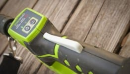 greenworks trimmer power