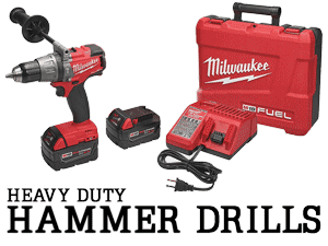 heavy duty 18V hammer drill buying guide