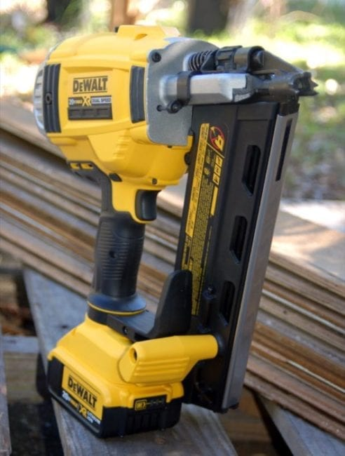 DeWalt 20V Max Framing Nailer