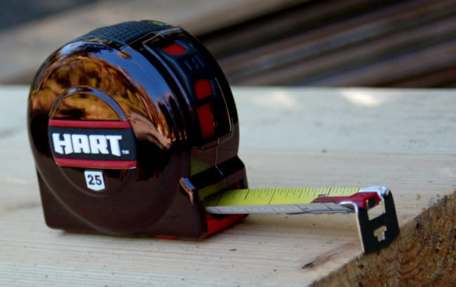Hart Magnetic Tape Measure