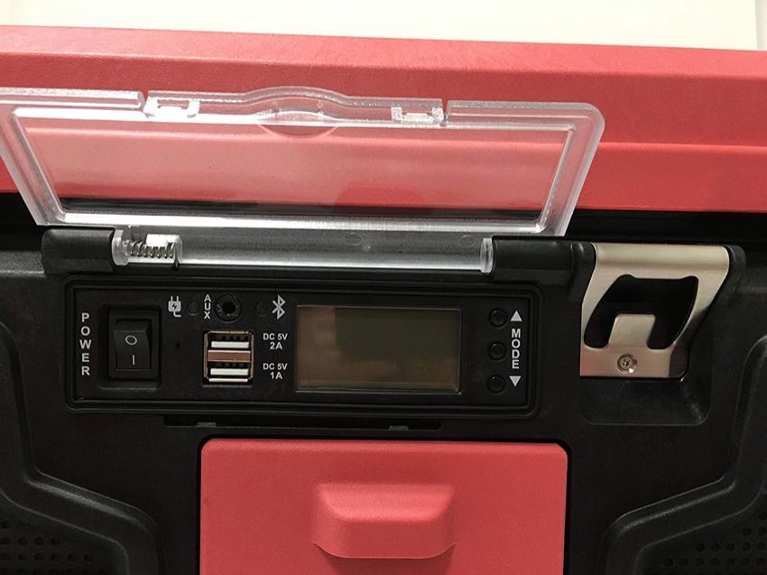 Coolbox Bluetooth radio