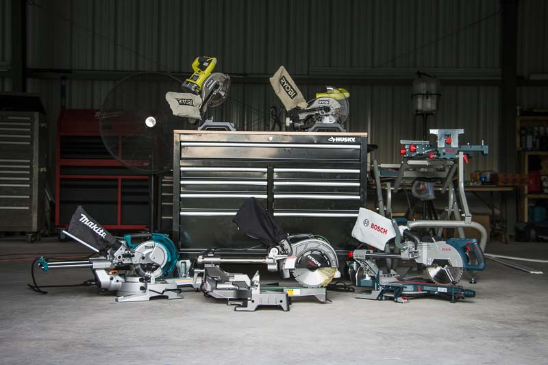 Compact Miter Saw Shootout