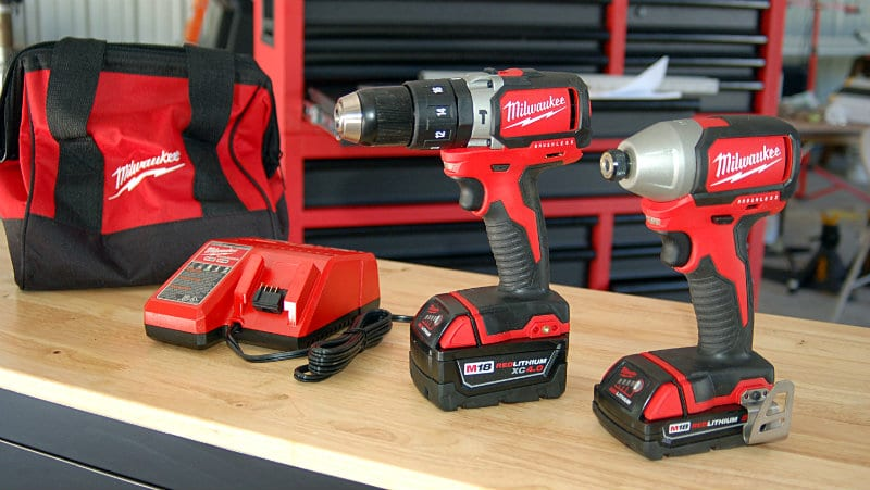 Milwaukee M18 Compact Brushless Combo Kit Feature