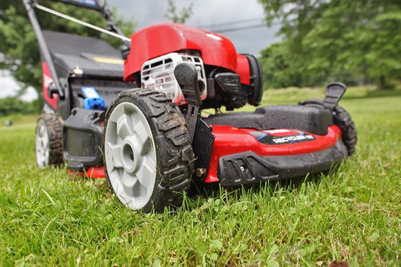 Toro 22 Personal Pace Recycler Lawn Mower Review Ptr