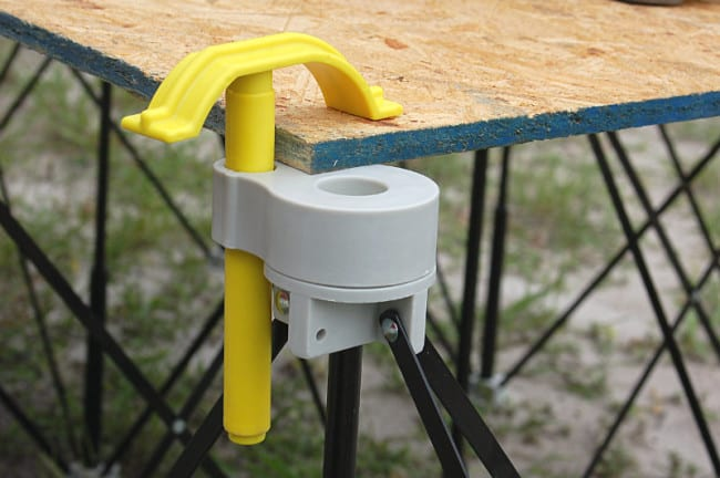 Centipede Portable Work System Quick Clamp