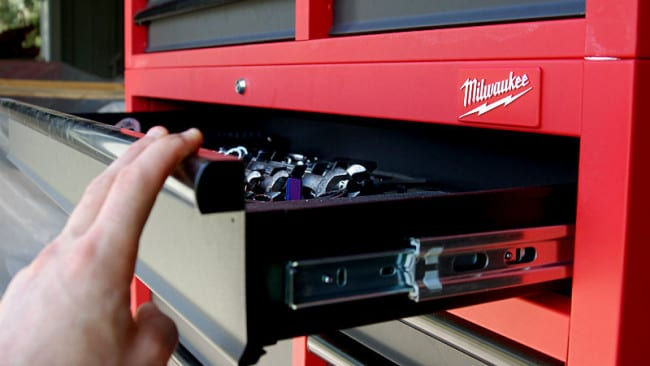 "Milwaukee 46"" Tool Chest and Cabinet 48-22-8500 Soft Close Drawer"