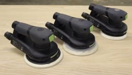 Festool ETS EC Brushless Sanders Line-up
