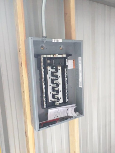 steel building electrical conduit lighting installation rh protoolreviews com Wiring a Metal Building Workshop wiring a post steel building