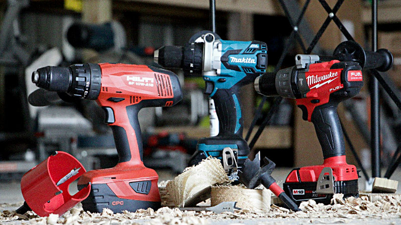 Most Powerful Cordless Drills