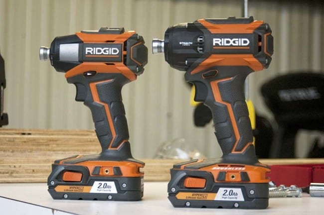 Ridgid Stealth Force Size Comparison