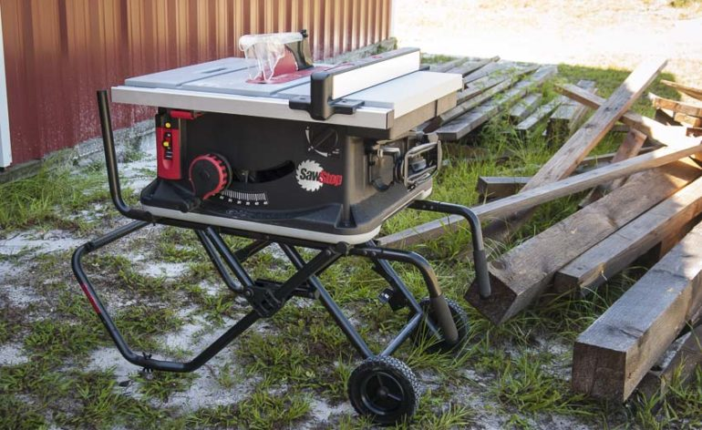 Sawstop Jobsite Table Saw Review Jss Mca Ptr