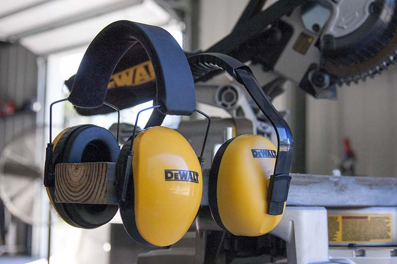 DeWalt Hearing Protection Feature