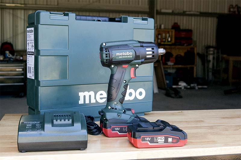 Metabo SSW 18 LTX 400 BL Impact Wrench Feature