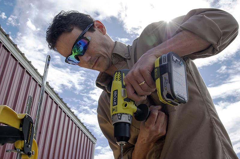 Ryobi P1812 Hammer Drill Kit Clint Being Awesome