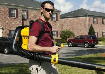 DeWalt 40V Max Backpack Blower Side View