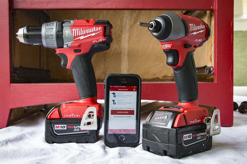 Using Milwaukee One Key Hands On Review Pro Tool Reviews